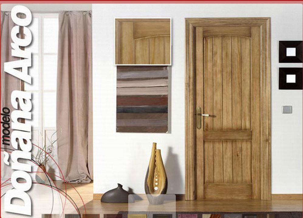 Armarios y puertas rosagro for Puertas madera rusticas interior