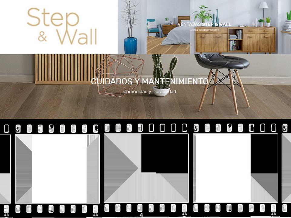 SUELO MADERA -STEP&WALL