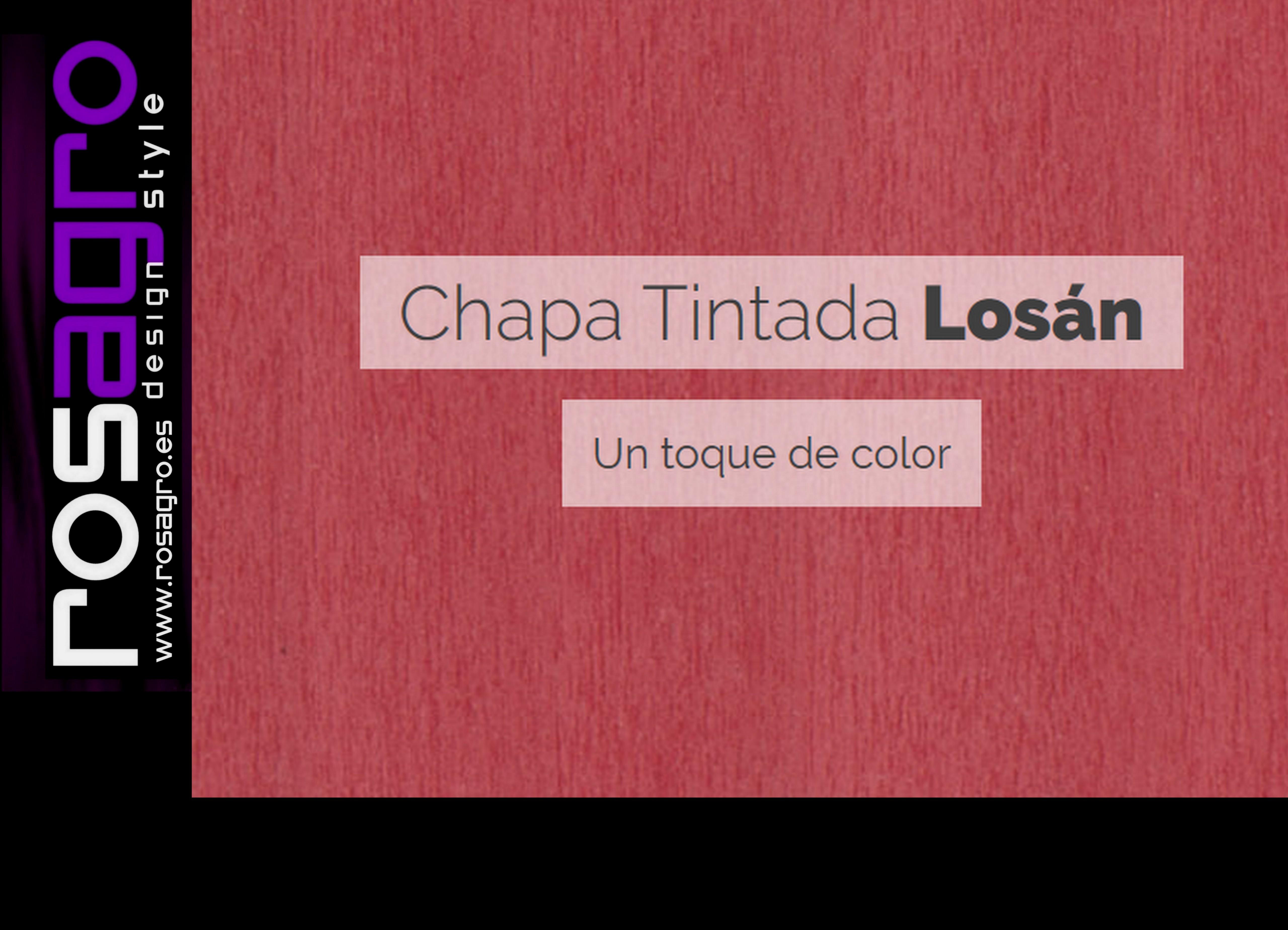 CHAPA TINTADA