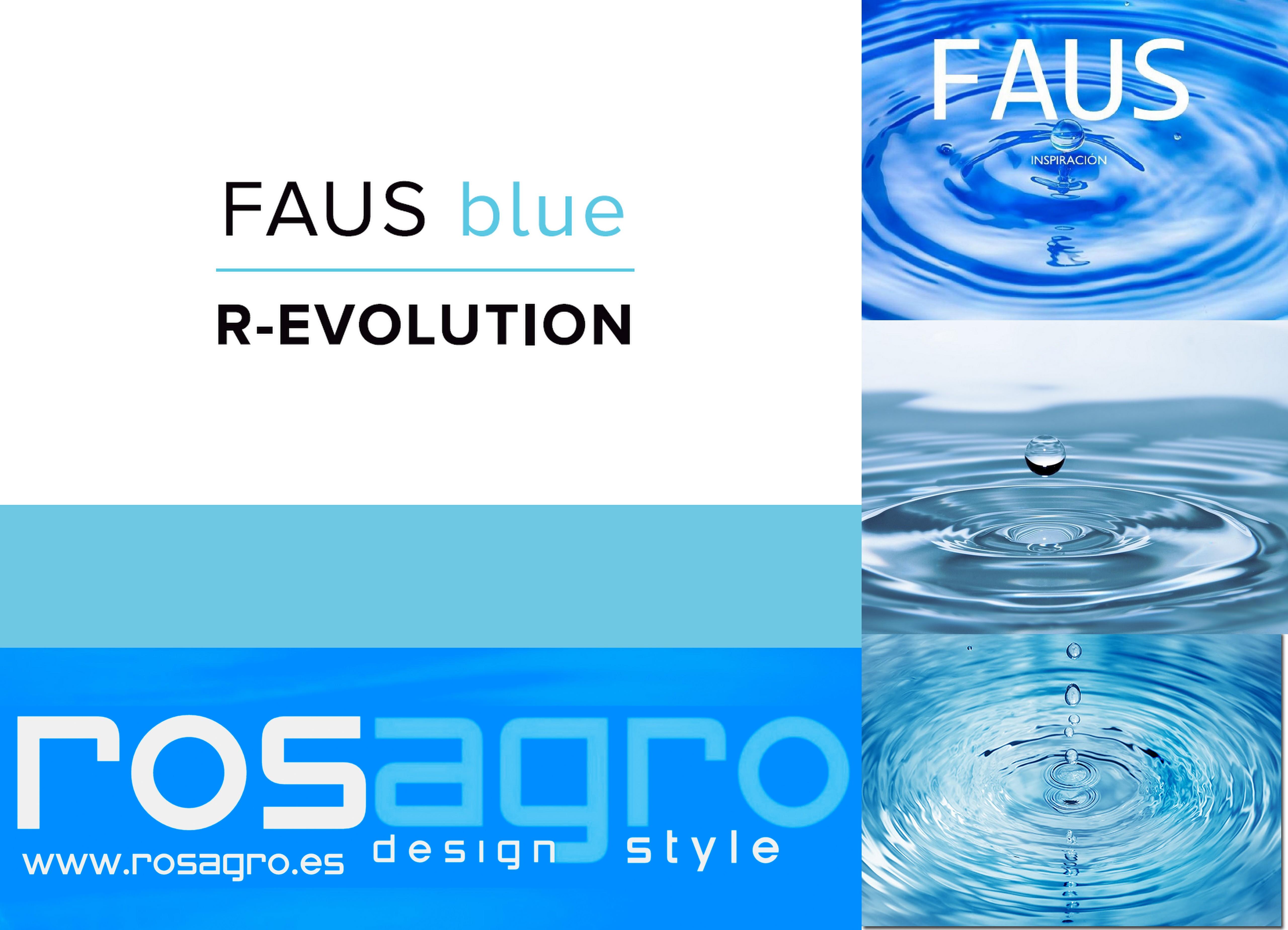 FAUS R-EVOLUTION BLUE VINILICO
